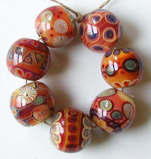 Melba: z-beads boro set from a few years ago