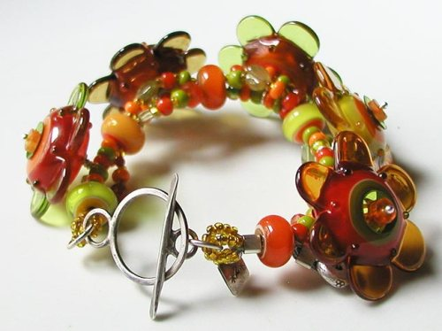 a bracelet I made recently